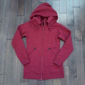 Burton Minxy Fleece Zip Up Hoodie Size Small